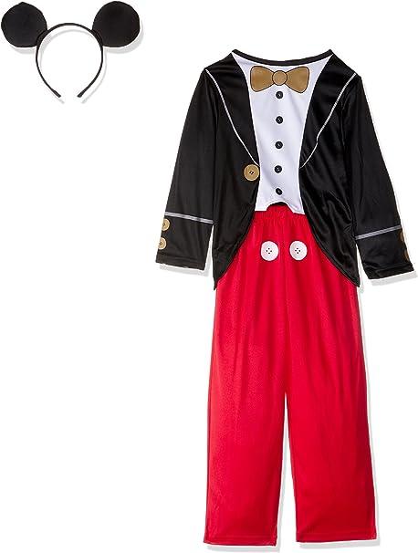 Rubies Toyland - Disfraz Mickey Mouse para niños, talla M, edad 5 ...