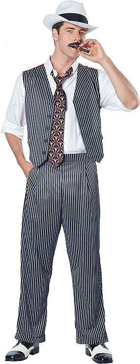 Disfraz de gángster camorrista para hombre