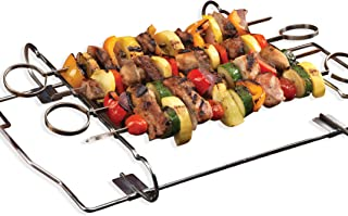 product image for Kabob Set - 4 Skewers & Grill Rack