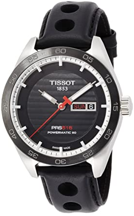 d727ee159d3 Amazon.com  Tissot t1004301605100 PRS 516 AUTOMATIC GENT WATCH ...