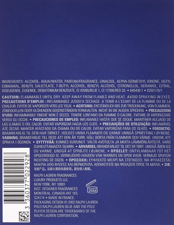 POLO BLUE by Ralph Lauren by Polo Ralph Lauren: Amazon.es: Belleza