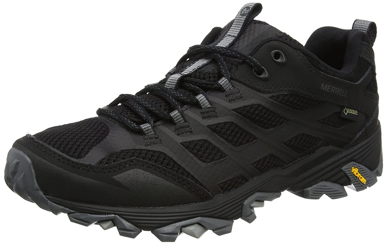 Merrell J37601, Zapatillas de Senderismo Hombre 43.5 EU Negro (Noire)