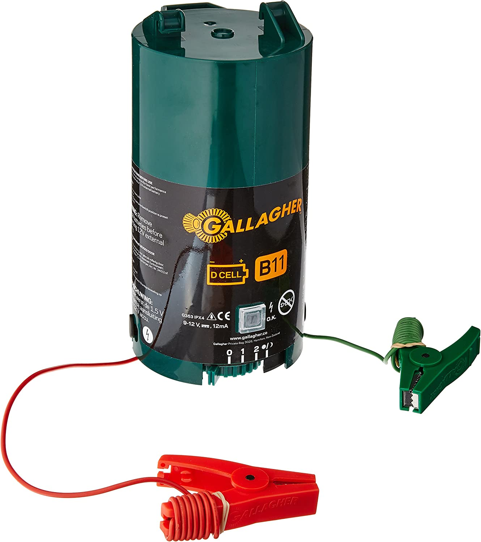 12V Gallagher B11 Battery Electric Fence Energiser