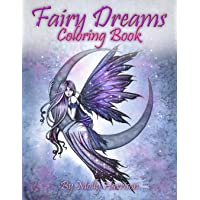 Fairy Dreams Coloring Book: Adult Coloring Book Featuring Beautiful, Dreamy Flower Fairies and Celestial Fairies!
