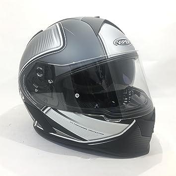 Marca nueva Viper RS-V9 velocidad mate negro Full Face ACU moto motocicleta Sharp 4