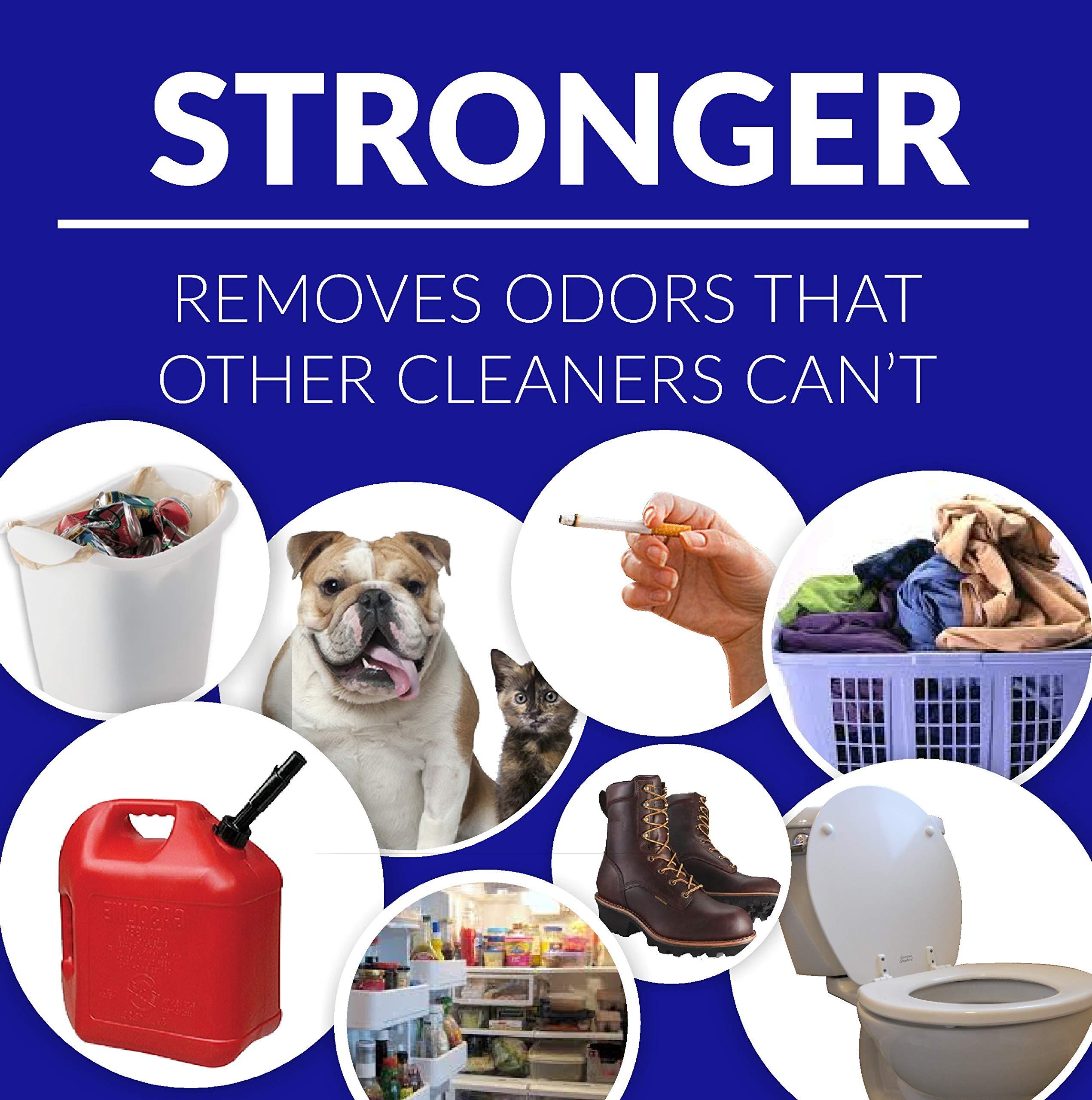 ZORBX Unscented Multipurpose Odor Remover –Safe for All, Even Children, No Harsh Chemicals, Perfumes or Fragrances, Stronger and Safer Odor Eliminator Works Instantly (Value Pack)