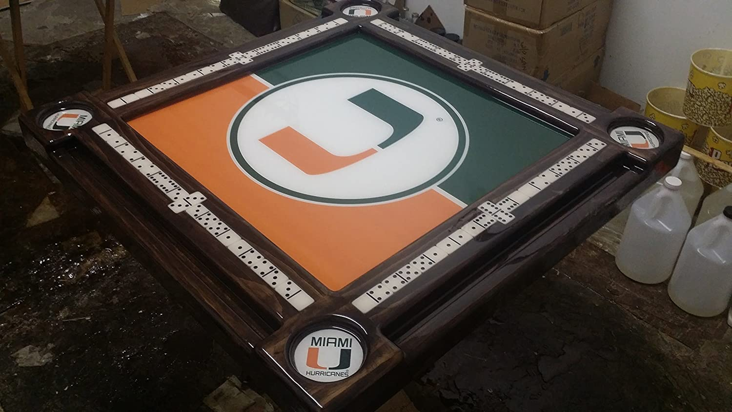 University of Miami Domino Table