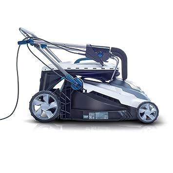 Herramienta de Jardinería Blaupunkt GX7000 Cortacésped Eléctrico de Alta Potencia con Motor Eléctrico AC 1800W - 3400rpm, y 42 cm de Diámetro de Corte: ...