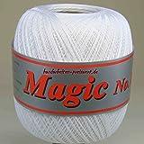 Häkelgarn 100 Gramm Baumwolle Filet Garn Häkeln Farbe Weiß101