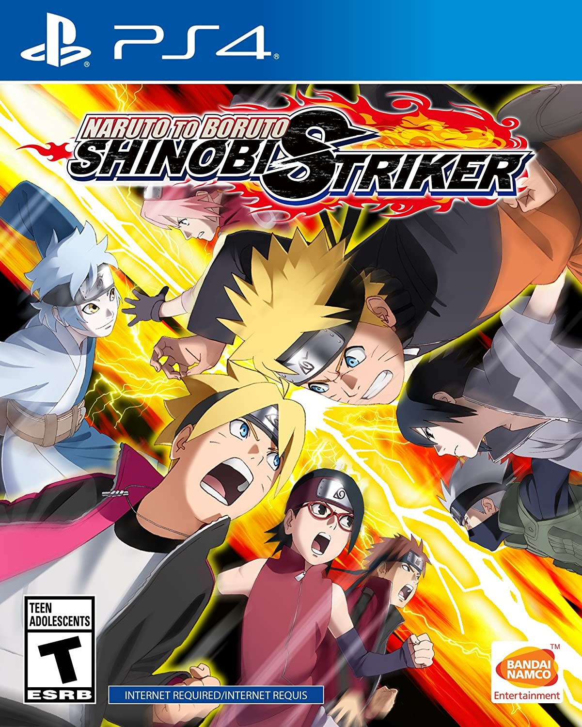 Amazon com naruto to boruto shinobi striker playstation 4 bandai namco games amer video games