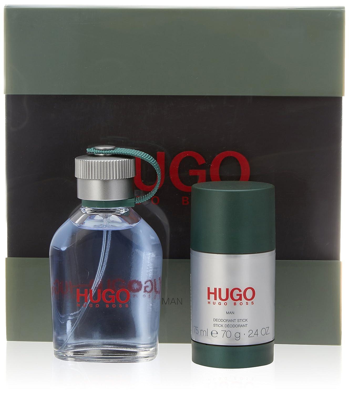 Hugo Boss Hugo-Man Geschenkset (Eau de Toilette, 75 ml und Deo Stick, 75 ml), 1 Stück 1 Stück 0730870156056