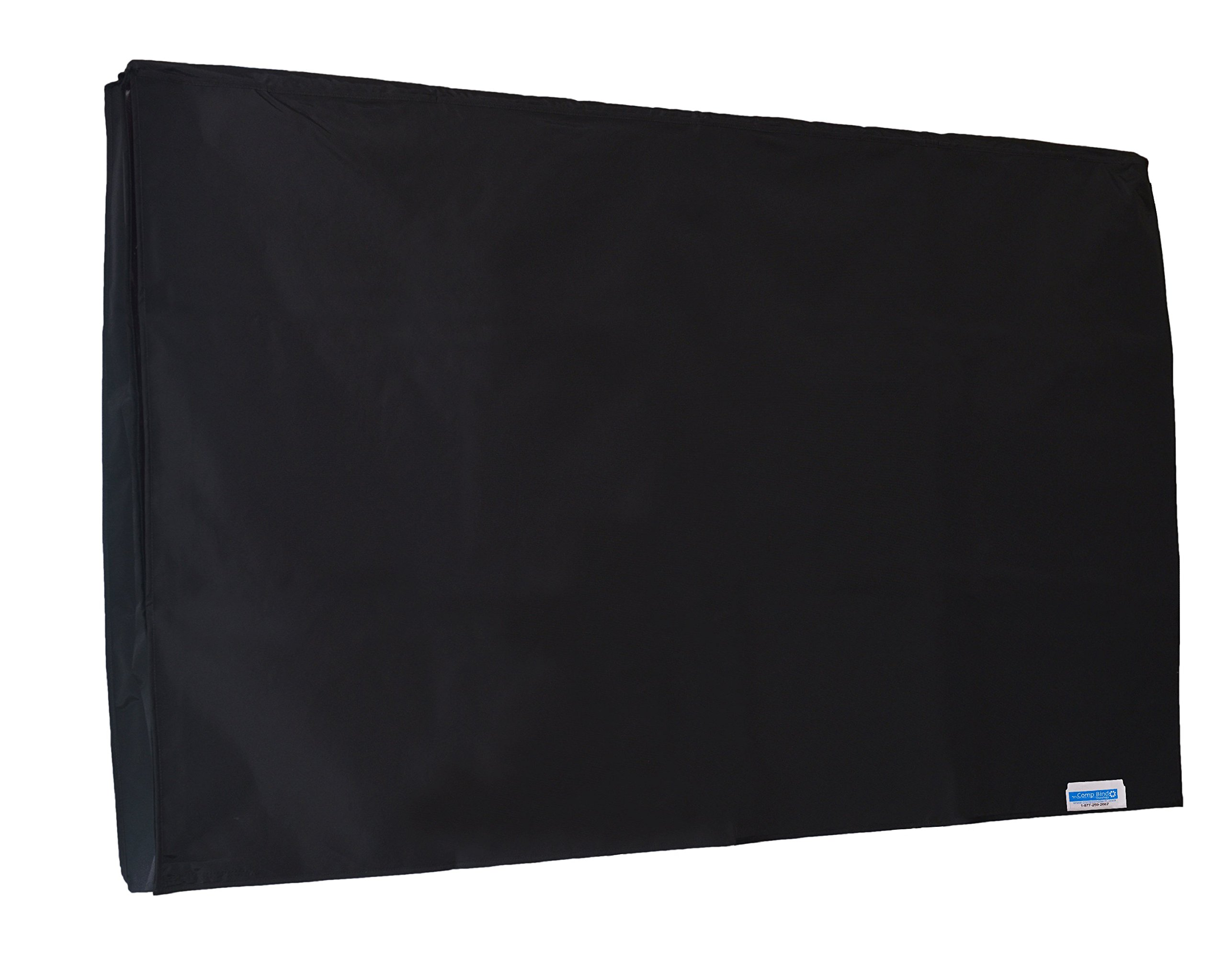 Comp Bind Technology Black TV COVER for Vizio E70-E3 70'' 4K SMART TV. Outdoor, Waterproof and Heavy Duty COVER By Comp Bind Technology Dimensions 62''W x 3''D x 35.5''H
