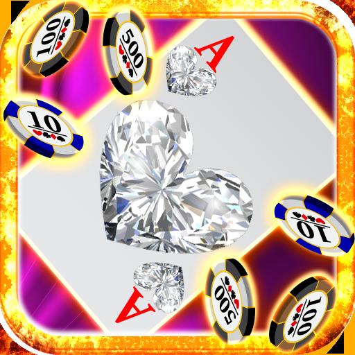 (Diamond Jewels Blackjack Heart Jewel Hot Free Blackjack 21 Games fro Kindle Fire HD Free Games Casino Cards Games for Kindle Blackjack Trainer Stars Vegas Card Tricks)