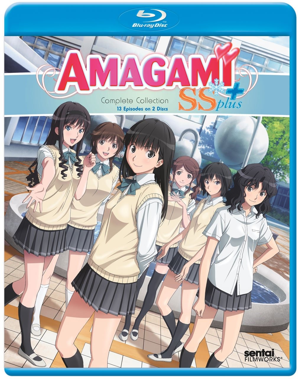 amazon com amagami ss plus complete collection blu ray hiromi