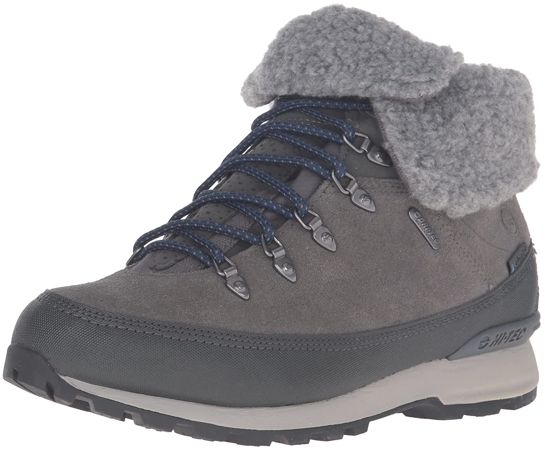 Hi-Tec Women's Kono Espresso I Waterproof-W Hiking Shoe B01A0FFJJQ 10 B(M) US|Charcoal/Deep Cobalt