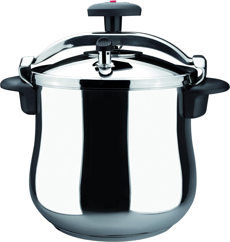 magefesa star b stainless steel pressure cooker