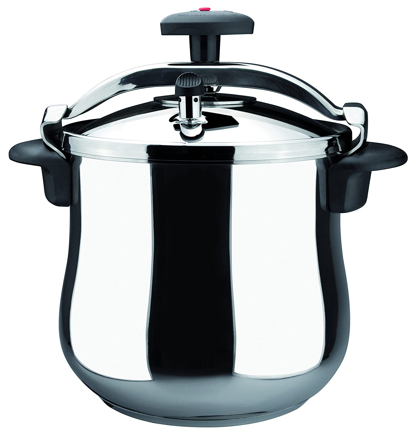 Magefesa 01OPSTABO10 Star B Stainless Steel Fast Pressure Cooker, 10-Quart