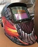 USA seller: Hg Auto Darkening Solar Powered Welders Welding Helmet Mask With Grinding Function