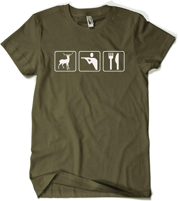 Cazador Triatlón – Camiseta caqui – talla de S hasta XXL: (camiseta de campeón de tiro, camiseta de caza): Amazon.es: Deportes y aire libre