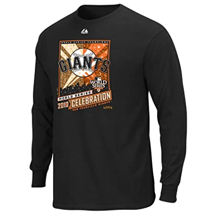 MLB San Francisco Giants 2010 World Series The Finest Roster Long Sleeve Tee  Men s ef340292a