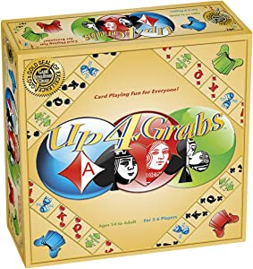 Up 4 Grabs - A Card Playing Board Game for The Entire Family