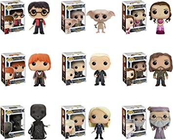 Funko Next Series of Harry Potter - Harry Potter, Ron Weasley ...