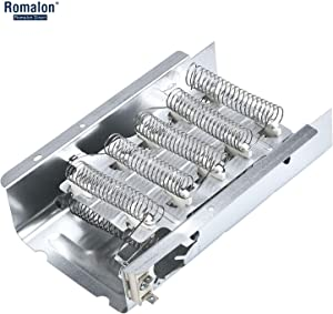 Romalon 279838 Dryer Heating Element for Whirlpool Kenmore Dryers - Replaces 3403585 PS334313 8565582 AP3094254