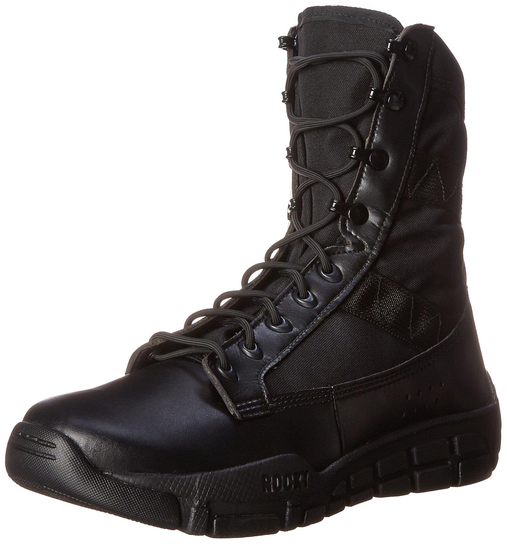 Rocky Men's RY008 Boot, Black, 10.5 W US by Rocky
