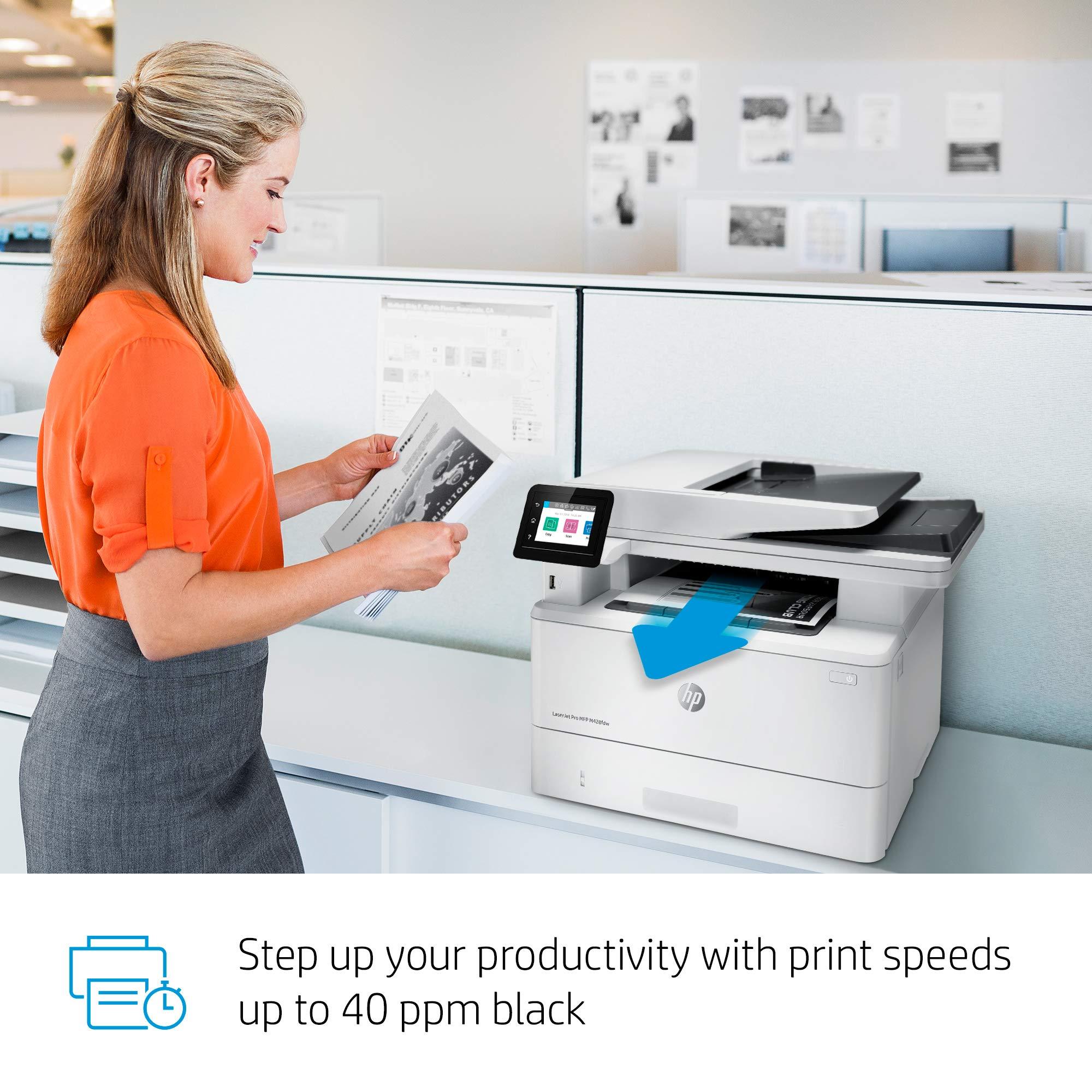 HP LaserJet Pro Multifunction M428fdw Wireless Laser Printer (W1A30A) by HP (Image #8)