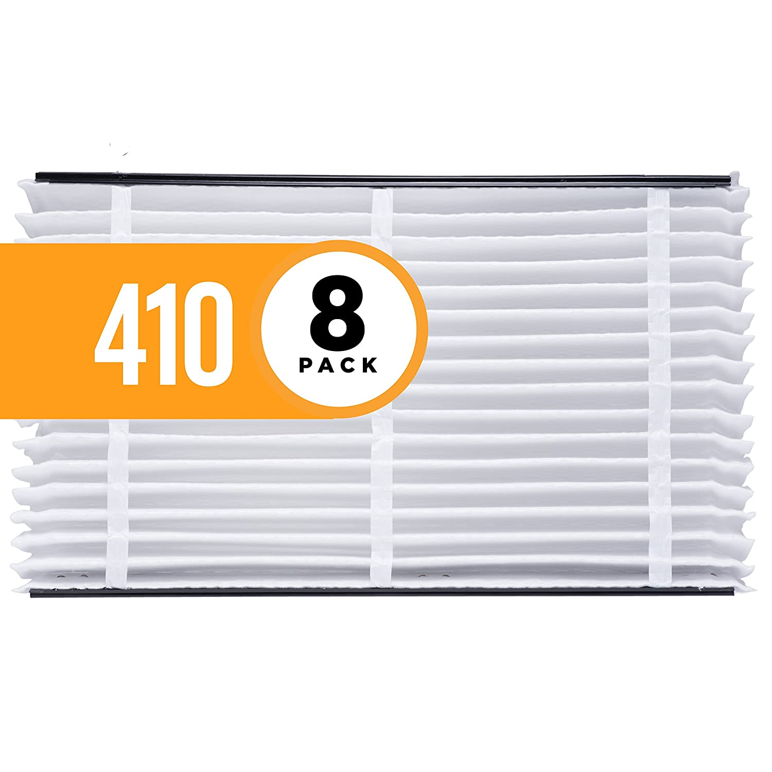 Aprilaire 410 Air Filter for Aprilaire Whole Home Air Purifiers, MERV 11 (Pack of 1) 410 A1