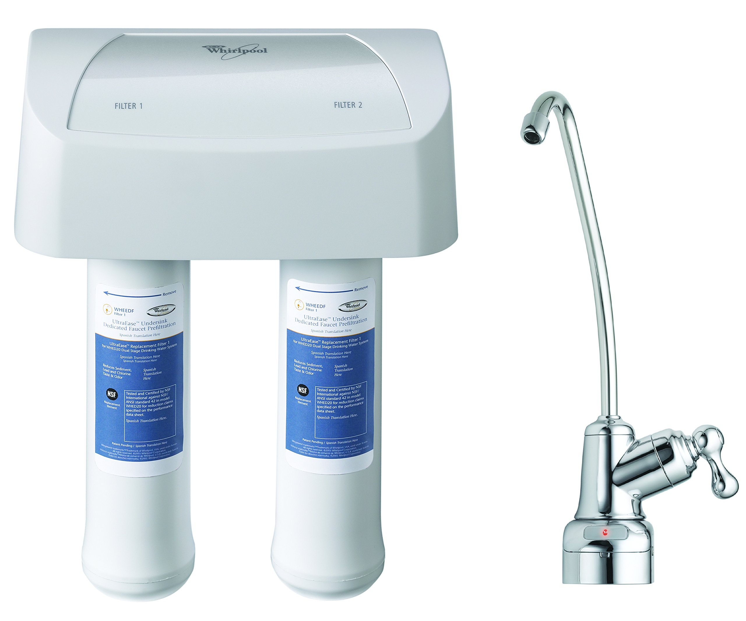 Whirlpool WHEEDF Dual Stage Replacement Pre/Post Water Filters (Fits Systems WHADUS5 & WHED20) by Whirlpool (Image #4)