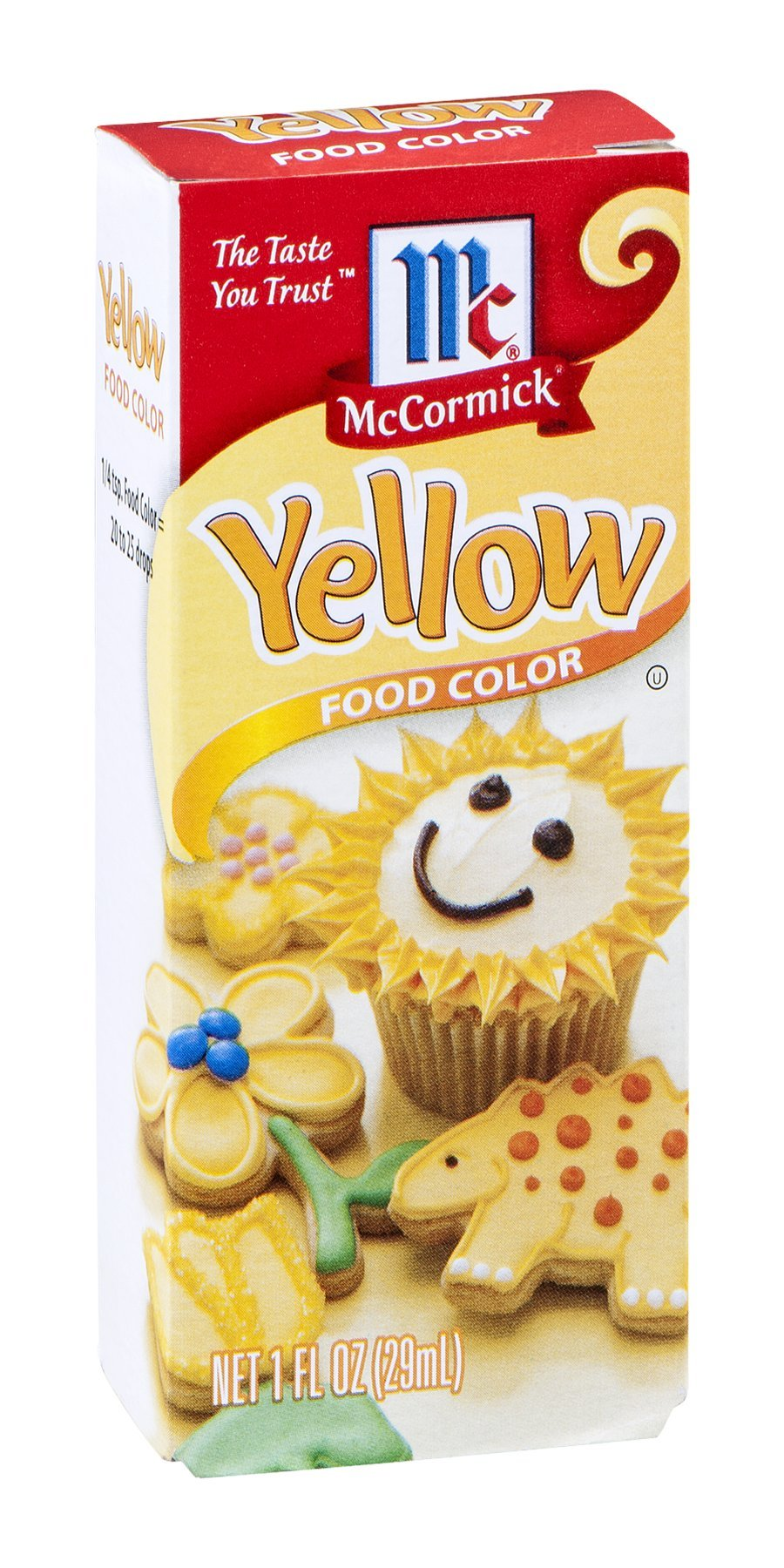 McCormick Food Color Yellow 1 OZ (Pack of 18)