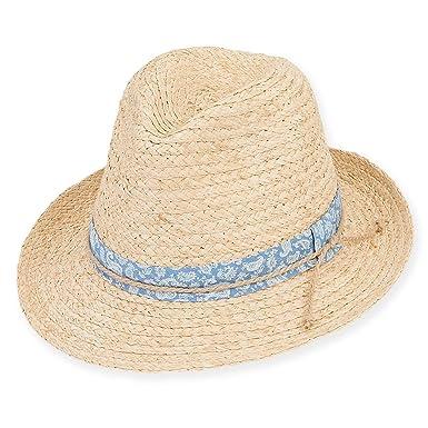 42114b7bcd7 Guy Harvey - Unisex Raffia Sun Hat Cotton TRM Brim 2.5 Ashford ...