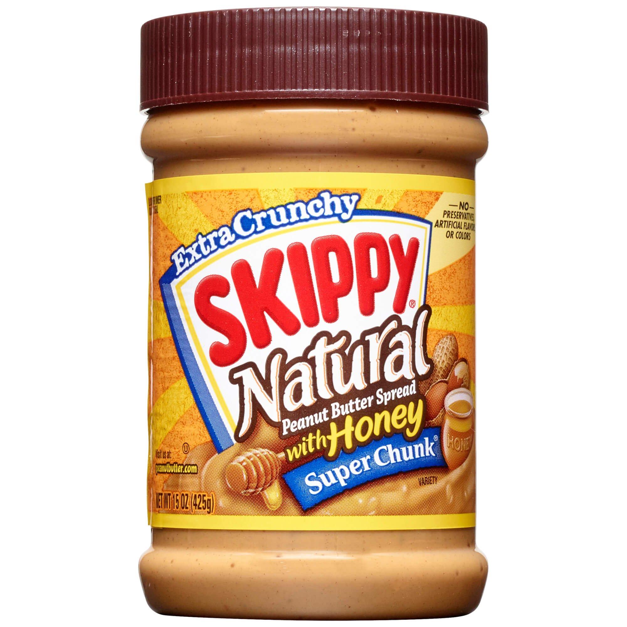Amazon.com : Skippy Natural Creamy Peanut Butter Spread