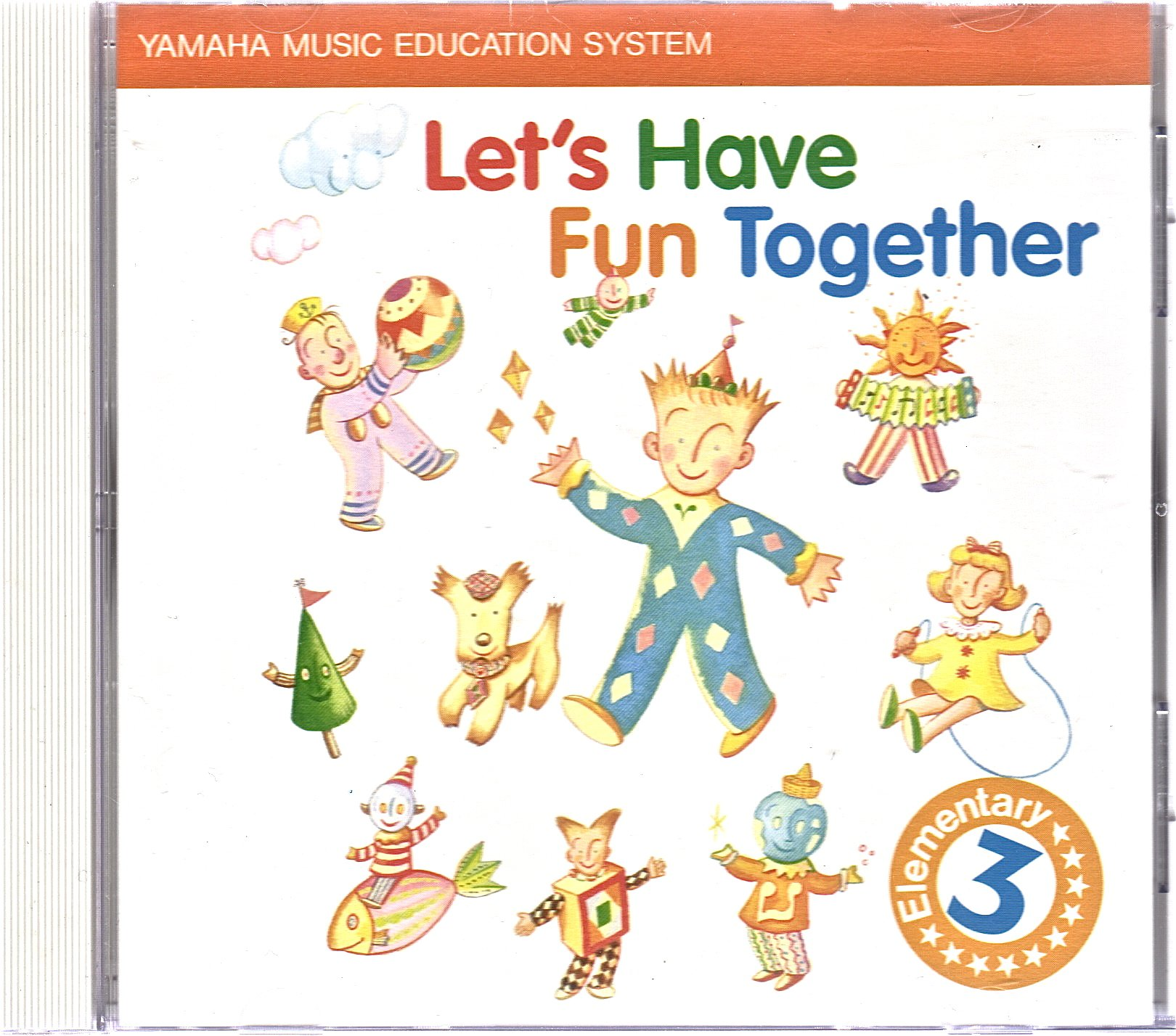 Yamaha music education system lets have fun together elementary 3 yamaha music education system lets have fun together elementary 3 music book amazon books fandeluxe Image collections