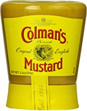 Colman'S Squeezy Mustard 5.3 Ounce (Pack of 6)