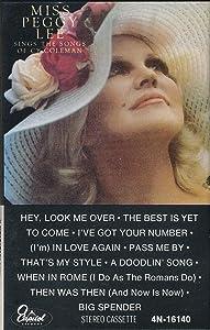 Miss Peggy Lee Sings the Songs of Cy Coleman