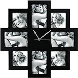 Zep FC003 Horloge Photo Murale Noir