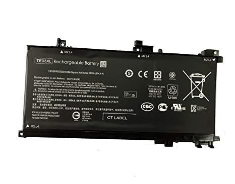 Amazon com: Tesurty Battery Replacement for HP Pavilion 15-bc000