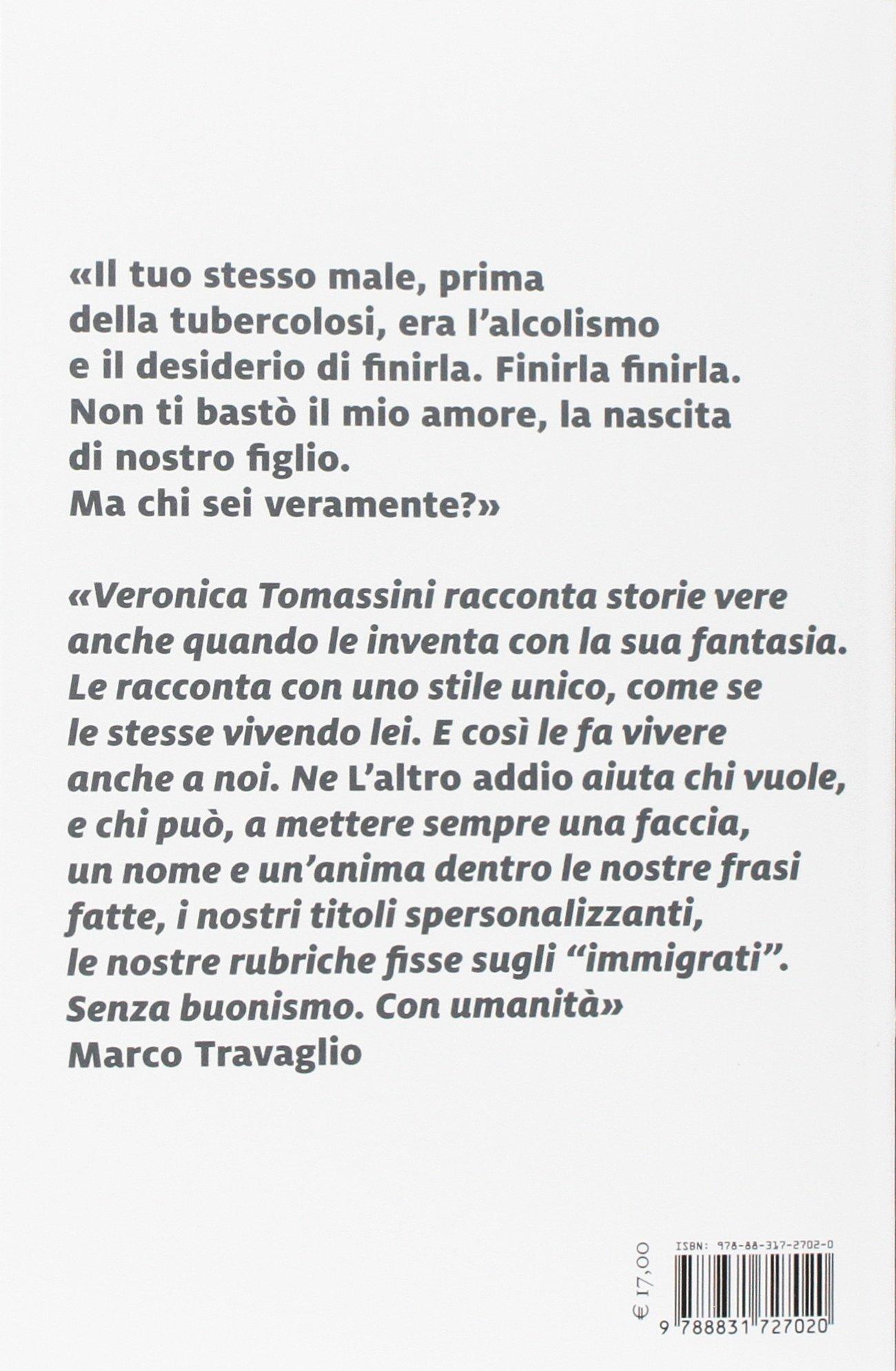 Connu Amazon.it: L'altro addio - Veronica Tomassini - Libri OT87