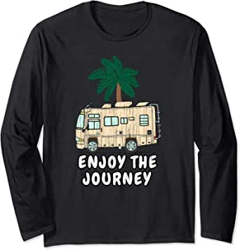 Distressed Go on an Adventure RV Motorhome Camping Travel Sweatshirt