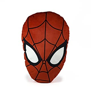 Amazon.com: Forma de cabeza de Spiderman de Marvel cojín ...