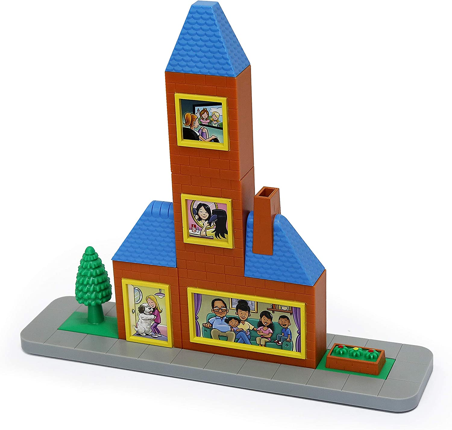 Magnetic Building Blocks Playset Popular Playthings Construction Toy MAGVILLE