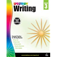 Spectrum Paperback Writing Book, Grade 3, Ages 8 - 9