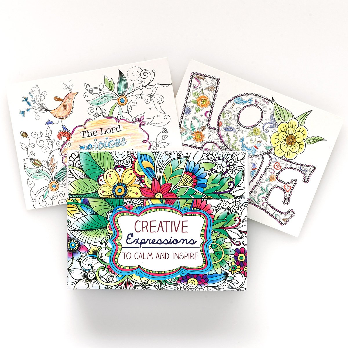 amazon com creative expressions cards to color and share