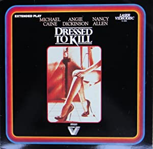 Dressed To Kill LASERDISC (NOT A DVD!!!) (Full Screen Format) Format: Laser Disc