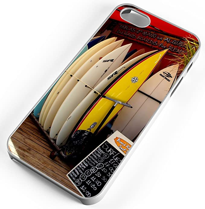 iPhone Case Fits iPhone 8 PLUS 8+ Surf Shop Wave Rental Board Ocean Sea Hawaii
