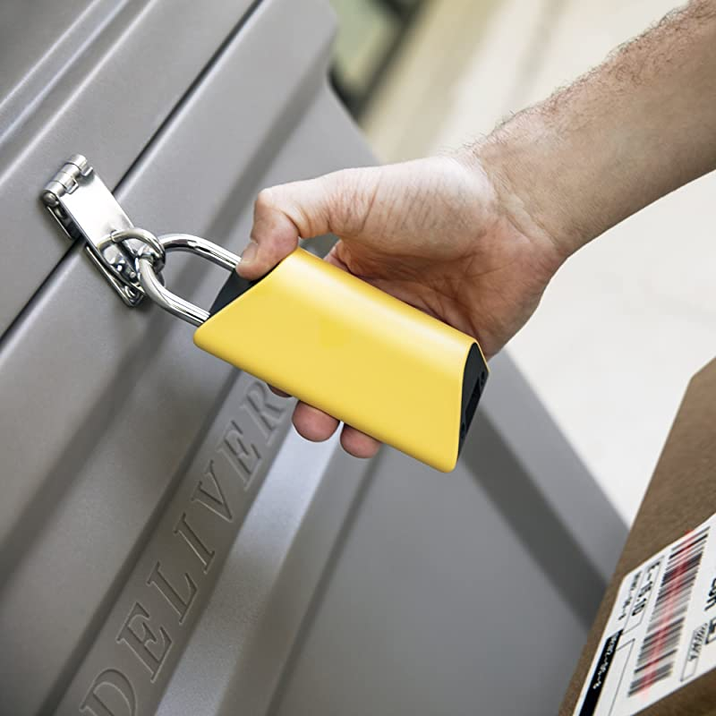 Smart Padlock to Protect Deliveries