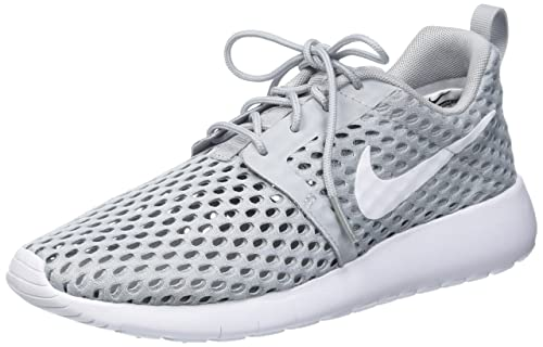 a0333489a63b ... discount nike girls roshe one flight weight gs sneakers grigio wolf  grey d6fef 2d0c8