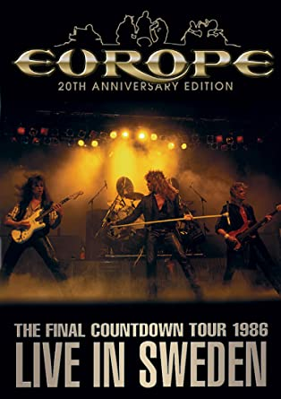 Amazon Europe The Final Countdown Tour Live In Sweden 1986